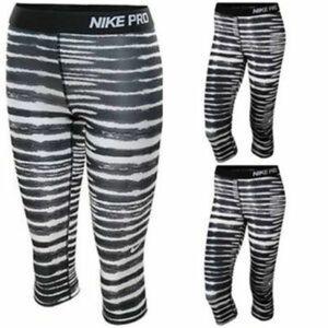Nike   Nike Pro Dri-Fit Zebra Capri Leggings